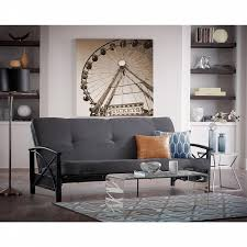 essential home zito futon metal frame u0026 mattress shop your way