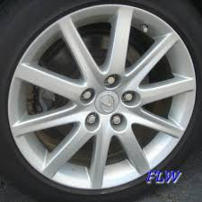 2007 lexus gs 350 wheels 2007 lexus gs350 oem factory wheels and rims
