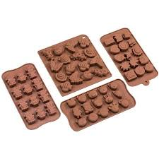 sorbus shaped silicone molds for chocolate and