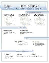 resume ms word format resume template free resume in word format for free