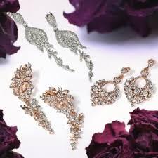 Sparkly Chandelier Earrings Sterling Silver Chandelier Earrings Find Your Perfect Dangling
