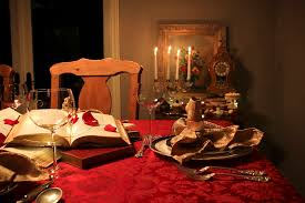 An Enchanting Beauty And The Beast Dinner Party  Design Organize - Beauty and the beast dining room