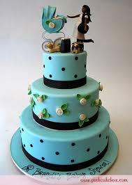 baby blue shower cake custom baby shower cakes