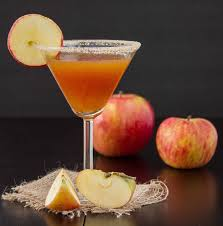 martini drinks apple pie martini