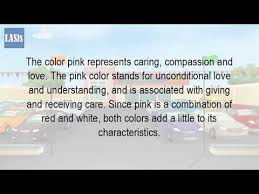 pink is a combination of what colors what does the color pink represent spiritually youtube