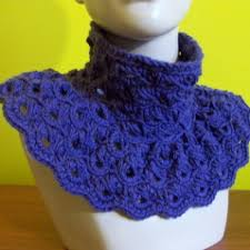 broomstick crochet broomstick lace cowl free crochet pattern