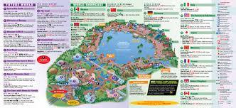 Disney Map Walt Disney World Resort Theme Park Maps All Four Parks Plus And