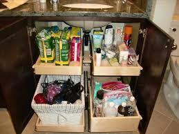 sink organizers bathroom cabinet storage organization benevola
