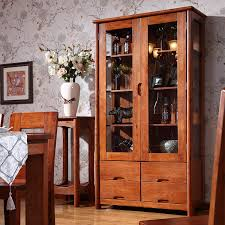 friends wooden restaurant furniture wood wine cabinet classical