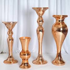 Wholesale Wedding Vases Tall Mirror Mosaic Wedding Vases 24