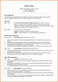 Resume Examples For Internships For Students by 8 Cv Examples For Students Budget Template Letter