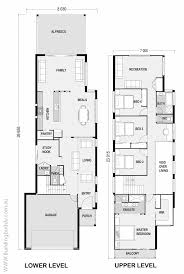 narrow homes floor plans modern house plans narrow plan lot with garage floor luxury