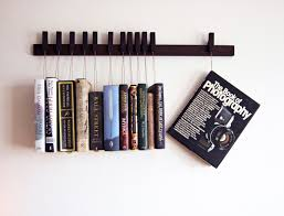custom made wooden book rack bookshelf in wenge pins also zoom