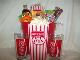 Movie Night Gift Basket Ideas 20 Best Hampers Images On Pinterest Candies Chocolate Bouquet