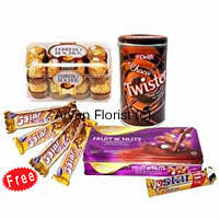 Chocolate Delivery Send Chocolate Hampers To India Chocolates Delivery India