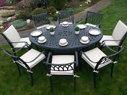 oval patio table 8 seater sets countess oval set premium