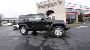 black jeep wrangler unlimited 2016 jeep wrangler unlimited sport black gl101875 everett