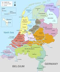Map Of Europe And Capitals by Provinces Of The Netherlands Wikipedia