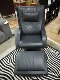 Small Black Leather Chair Leather Chair Seams To Fit Home