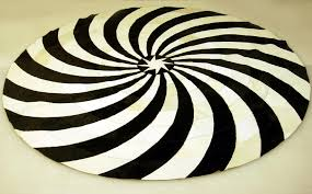 Black Round Rug Black And White Round Rug Best Decor Things