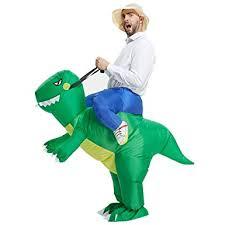 Amazon Halloween Costumes Girls Amazon Toloco Inflatable Dinosaur Rex Costume Inflatable