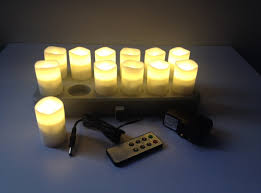 ultra wizelites rechargeable candles kgbdecor led