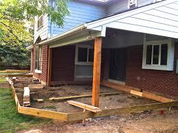 building an 800 square feet composite deck jim cardon customs