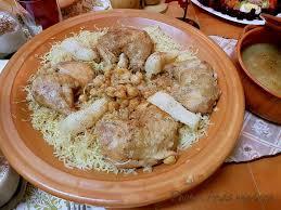 cuisine traditionnelle algeroise rechta algéroise sauce blanche recettes faciles recettes
