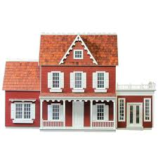 vermont farmhouse finished 1 inch scale vermont farmhouse jr with addition and