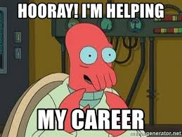 Zoidberg Meme Generator - hooray i m helping my career doctor zoidberg meme generator
