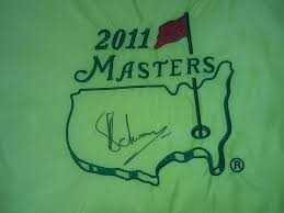Masters Flag Single Signed Masters Flags