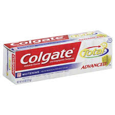 toothpaste whitening colgate total advanced toothpaste anticavity fluoride and