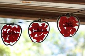 apple garland the fruit of the spirit i can teach my child