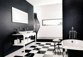 black bathrooms ideas bathroom top black for house ideas laminate flooring onyx