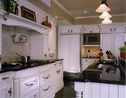 kitchen room cherry kitchen cabis granite countertops white