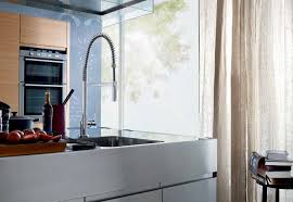 hansgrohe kitchen faucet hansgrohe axor 39840801 steel optik citterio pre rinse kitchen