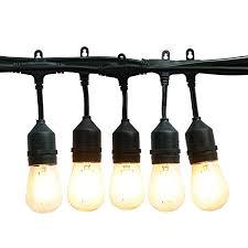 mokungit outdoor string lights 32 ft heavy duty