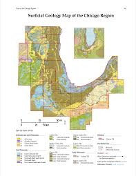 Chicago Terminal Map by Flora Of The Chicago Region A Floristic And Ecological Synthesis