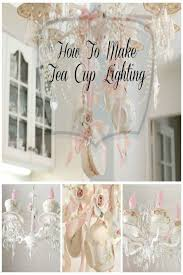 Shabby Chic Lighting Ideas by Best 20 Shabby Chic Chandelier Ideas On Pinterest Vintage