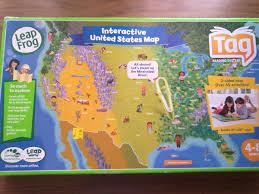 Leapfrog Interactive United States Map by Leapster Leapfrog Mapa Estados Unidos Para Lapiz Tag 5 000 En