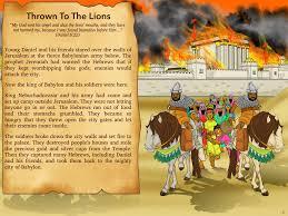 free bible lesson daniel and the lion u0027s den free bible bible