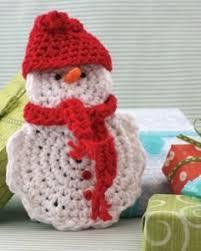 crochet for free crochet snowman family crochet