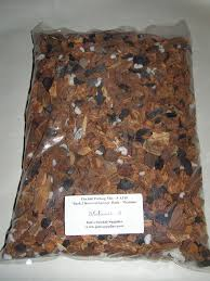 orchid bark orchid potting mix medium orchid bark with