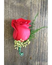 Red Rose Boutonniere Corsages U0026 Boutonnieres