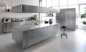 commercial kitchen backsplash stainless steel commercial kitchen cabinets wooden dining table