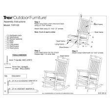 Polywood Jefferson Rocking Chair Beautiful Trex Adirondack Chairs Beautiful Chair Ideas