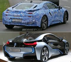 Bmw I8 3 Cylinder - bmw i8 sports production wheels for first time and drops some camo