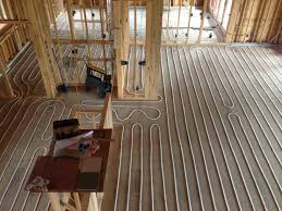 radiant floor heating radiant works