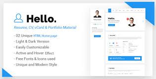 Html Resume Template Free Resume Html Template Bold Cv Resume Template Html Resume