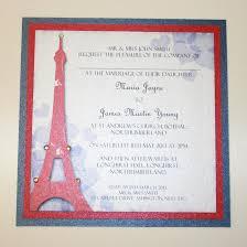 eiffel tower wedding invitations excellent eiffel tower wedding invitations gallery invitation